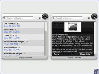More Widgets erleichtert Ihnen die Installation von Widgets von Apple.com