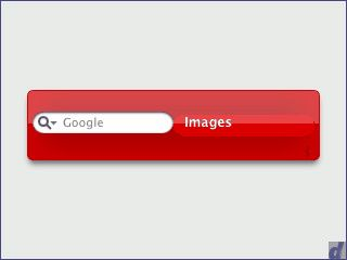 Widget zur Suche bei Google nach Bildern, News sowie in Groups und im Web.