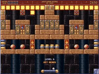 Ein Bricks Clone der im alten Ägypten spielt.