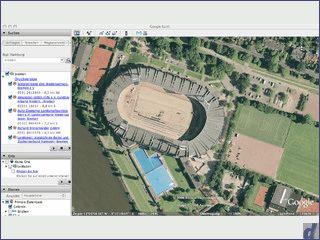 Google Earth für Macintosh Computer mit Intel Prozessor.