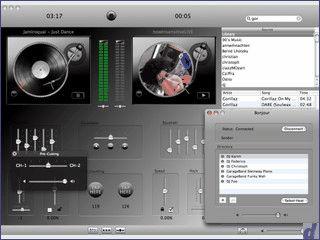 Ein Doppel Audio Player mit dem Sie wie ein DJ mixen können.