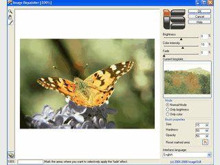 Farbänderungen in Bildern basierend auf anderen Bildern ändern.
