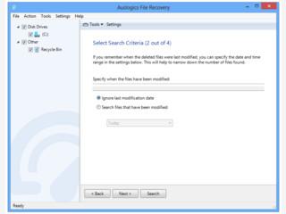 Wiederherstellung von beliebigen Dateien nach versehentlichem Löschen.
