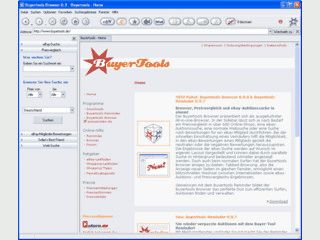 Ein spezieller Browser für Ebay und Online-Preisvergleich.