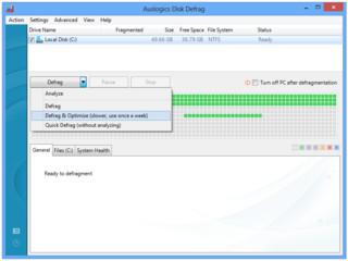 Alternative Software zur Defragmentierung Ihrer Festplatten.