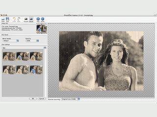Fünf einzelne Anwendungen für die Bildbearbeitung.