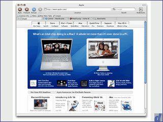 Schlanker Browser der auf der Mozilla Gecko Engine basiert.