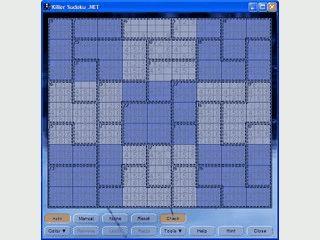 Gut gelungene Sudoku Variante mit sehr vielen Schwierigkeitsgraden.