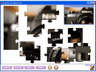Einfaches Puzzlespiel mit vielen Konfigurationsmöglichkeiten.