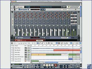 Das komplette Tonstudio in einem virtuellen Rack mit unzähligen Geräten.