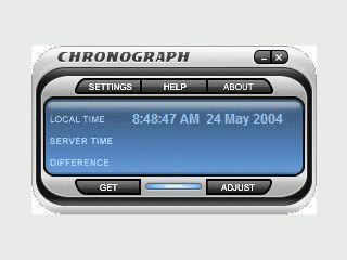Automatische Einstellung der PC Uhr über eine Internet Verbindung zur Atomuhr.