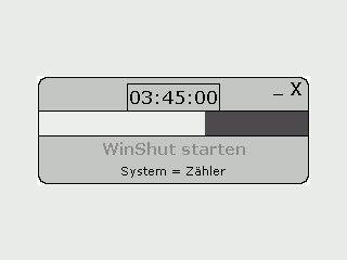 Einfaches Tool zum zeitverzögerten Herunterfahren von Windows.
