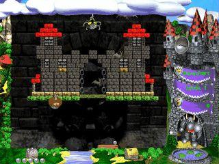 Guter Arkanoid bzw. Bricks Clone mit schicker Grafik und guten Effekten.