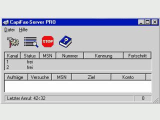 Netzwerkfähige Fax-Software für ISDN mit Fax to Mail und Mail to Fax Funktion.