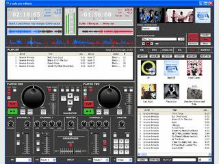 DJ-Software zum Mixing. Optionales Hardwarepanel erhältlich.