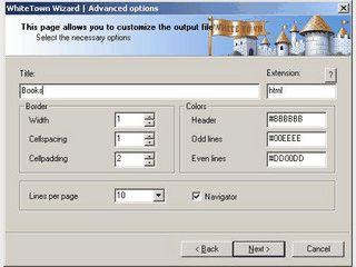 DBF-Datenbanken in HTML-Dateien konvertieren.