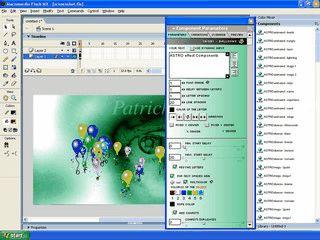Über 400 verschiedene Texteffekte für Macromedia Flash.