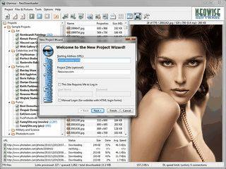 Automatischer Download von verschiedenen verlinkten Dateien einer Webseite.