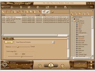 Audiosoftware zum Aufnehmen, Bearbeiten und Abspielen mit vielen Effekten.
