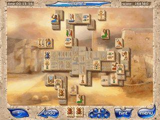 Gelungene Mahjongg Variante mit neuen Spielelementen.