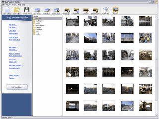 Einfache Erstellung von Webgallerien mit WYSIWYG Vorschau.