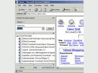 Erweiterung für den Internet Explorer zur Suche in den Favoriten.
