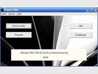 Zum Schutz Ihrer Privatsphäre werden Webseiten über einen Proxy aufgerufen.