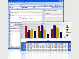 Komponenten zur Generierung von Reporten in .NET und ASP.NET Formularen
