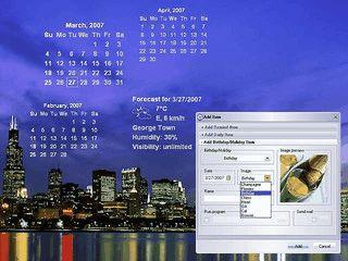 Mehrsprachiger Kalender und Terminplaner für den Windows Desktop.