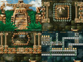 Ein Arkanoid Clone in der Welt der antiken Mayas und der Azteken.