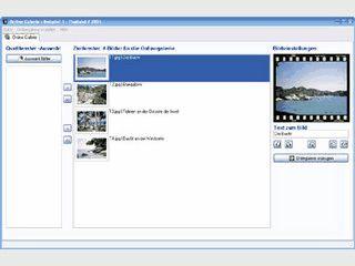 Schnelle und einfache Erstellung einer Bildergallerie für die eigene Homepage.