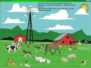 Interaktives Bilderbuch auf einem Bauernhof (ab 2 Jahren)