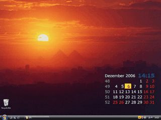 Desktopkalender, Wallpaper-Manager mit Bildschirmschoner und weitere Tools.
