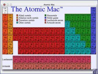 Periodensystem der Elemente mit farbiger Darstellung anhand verschiedener Kriter