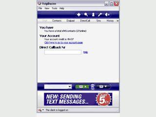 Software für VoIP Telefonie.