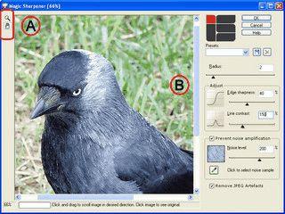 Plugin zur Schärfebearbeitung von Fotos.