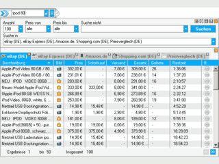 Ein kleines Tool, das für Sie Produktpreise ermittelt und Bookmarks verwaltet.