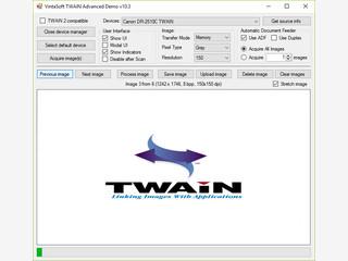 Einfache Verbindung von TWAIN Scanner oder Kamera zu Ihrem .NET Programm.