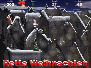 Santa Claus hat seine Helfer zu früh losgeschickt. Sammeln Sie alle wieder ein.