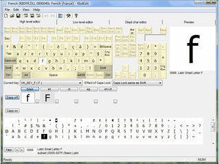 Keyboard Layout Editor mit dem sich alle Tasten beliebig belegen lassen.