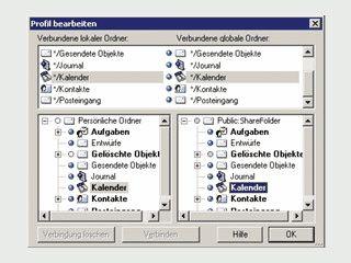 Synchronisation zweier MS Outlook Installationen, z.B. zwischen Notebook und PC