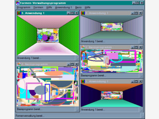 Projektworkspace für Visual C#-Entwickler zur Entwicklung eigener Programme.