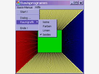 Basisworkspace für Visual C++-Entwickler zur Entwicklung eigener Projekte.