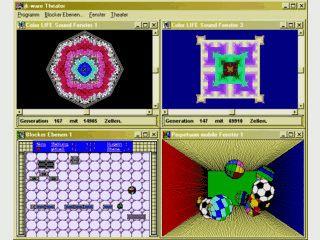 Spielbühne für Blocker Ebenen, Color LIFE Sound und Perpetuum mobile von jk-ware