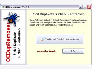Doppelt oder mehrfach vorhandene Emails in Outlook Express suchen und löschen