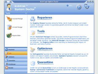 Umfangreiches Systemwerkzeug zur Pflege und Optimierung von Windows.