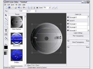 Software zum Erstellen von Labels und Cover für eigene CDs und DVDs.