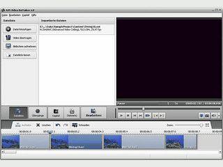 Szeneneditor für MPEG Videos.