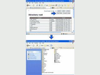 Webserver mit eigener PHP-ähnlicher Scriptsprache.