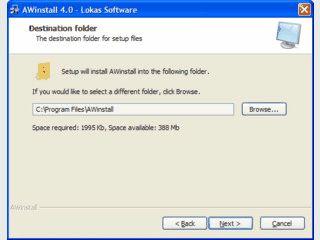 Software zur Erstellung von Setups